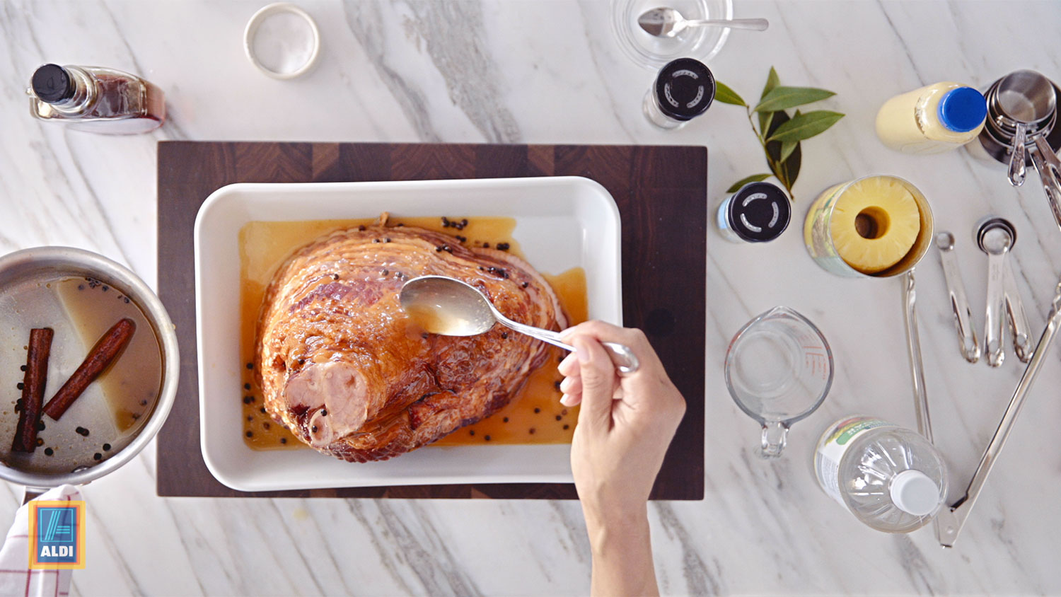 Carla Hall: Pineapple Glazed Ham